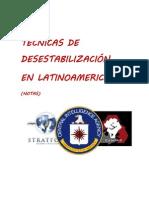 TECNICAS DE DESESTABILIZACIÓN EN LATINOAMERICA