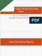 Farmasi - Drugs of Gastrointestinal Trac-2012