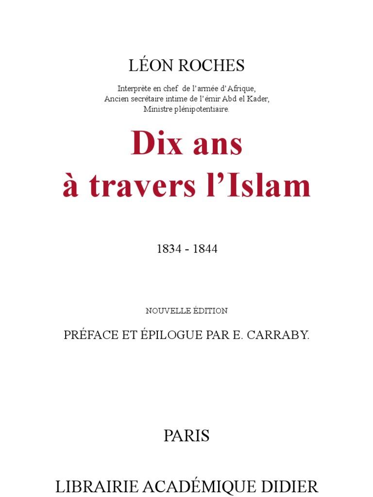 dix À L'islam Ans Roches Travers EDHbW2I9Ye