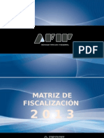 Fiscalizacion Electronica Afip