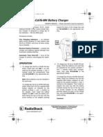 Radioshack Charger Instructions