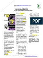 Ficha Tecnica Inmunizante C5B - Inmunizante Descontinuado