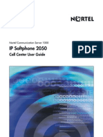 CS1000 Nortel i2050 IP Softphone Callcenter User Guide English 03