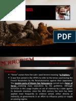 Terrorism Powerpoint Presentation