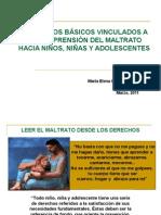 ELEMENTOS BÁSICOS VINCULADOS A LA COMPRENSIÓN DEL MALTRATO