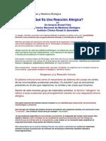 Alergias Y Medicina Biológica