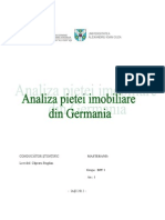 Analiza Pietei Imobiliare Din Germania