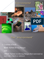 Environment an Introduction