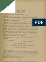 Reclams de Biarn e Gascounhe. - Yené 1906 - N°1 (10e Anade)