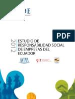 Estudio de RS de Empresas Del Ecuador 2102