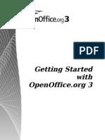 Openoffice 3 GettingStarted