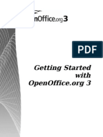 Openoffice 3 GettingStarted