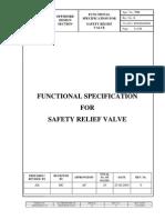 3701 - Safety Relief Valve
