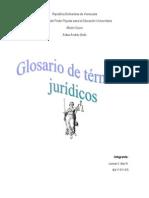 Glosario de Terminos Juridicos