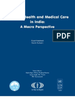 Status of Health