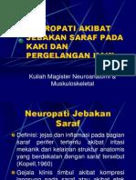 Sindroma Jebakan Saraf Pada Kaki Dan Ankle
