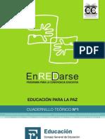 Cuadernillo Teorico n 1 Educacion Para La Paz