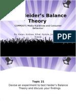 T21 - Heiders Balance Theory