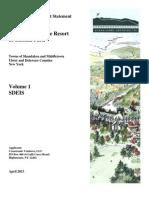 SDEIS Volume 1- Belleayre
