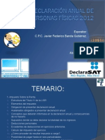 Marco Teorico Decl. PF 2012