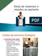 Colheita de Materiais e Anticoagulantes