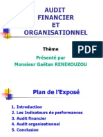 Audit Financier Et Organisationnel