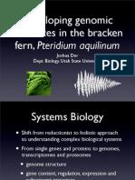 Developing Bracken Genomic Resources