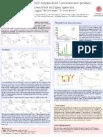 Europium-based responsive luminescent probes for reactive oxygen species
