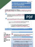 13-03-21-Rajoy Hace Crecer La Incertidumbre de Los Ciudadanos
