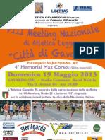 Meeting Di Gavardo 2013