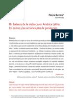 Balance Del Avio Lenci a en America Latin A