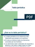 Tabla Periodica - Clases