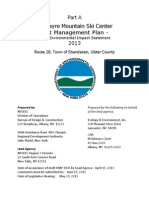 Belleayre Ski Center Draft Unit Management Plan - Part 1
