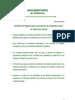13 04 10 Argumentario Vivienda Andalucia