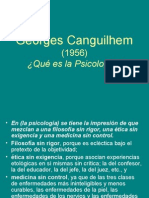 Georges Canguilhem PPT