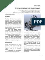 Baja Sae Design Report
