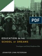 Education in the School of Dreams by Jennifer Lynn Peterson