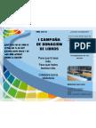 CAMPAÑA DONACIÓN DE LIBROS