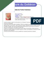Salade de Truite Fraîcheur