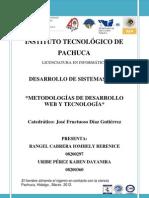 Metodologias de Desarrollo WEB y Tecnologia