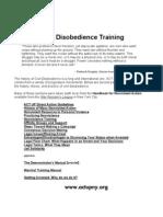 Civil Disobedience Manual