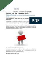 Dicas de Etiqueta Para Enviar Emails