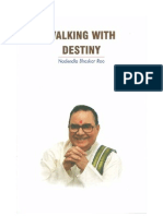 Walking With Destiny- Nadendla Bhaskar Rao