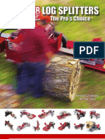Timberwolf Log Splitter Catalog