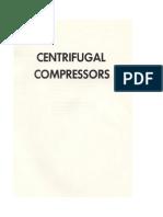 Centifugal Compressors API