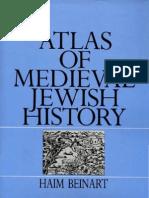 Haim Beinart Atlas of Medieval Jewish History 1992