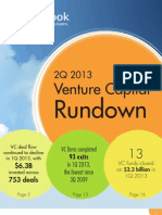 PitchBook 2Q2013 VC Rundown Report