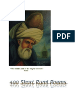 400 Rumi Short Poems English