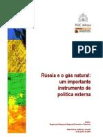 CANÊDO - Rússia e o gás natural