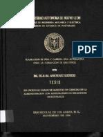 Desarrollo Profesional Planes de Carrera y Trayectorias Profesionales TESIS